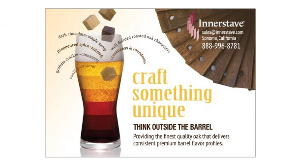 Innerstave Beer Oak Infusion Products Print Ad