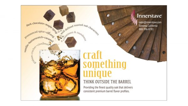 Innerstave Distilled Spirits Oak Infusion Products Print Ad