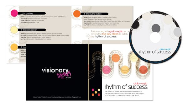 Beauty Industry Audio CD Package Design