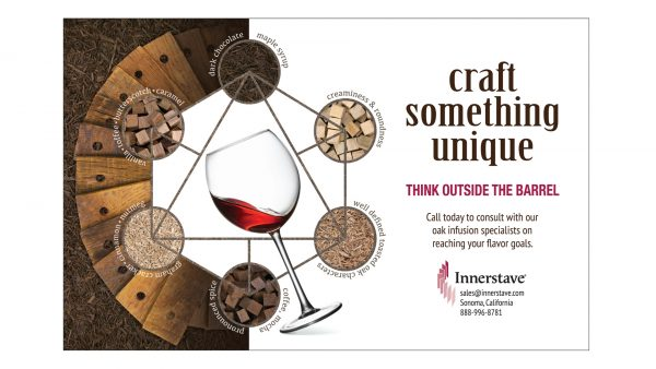 Innerstave Wine Oak Infusion Products Print Ad