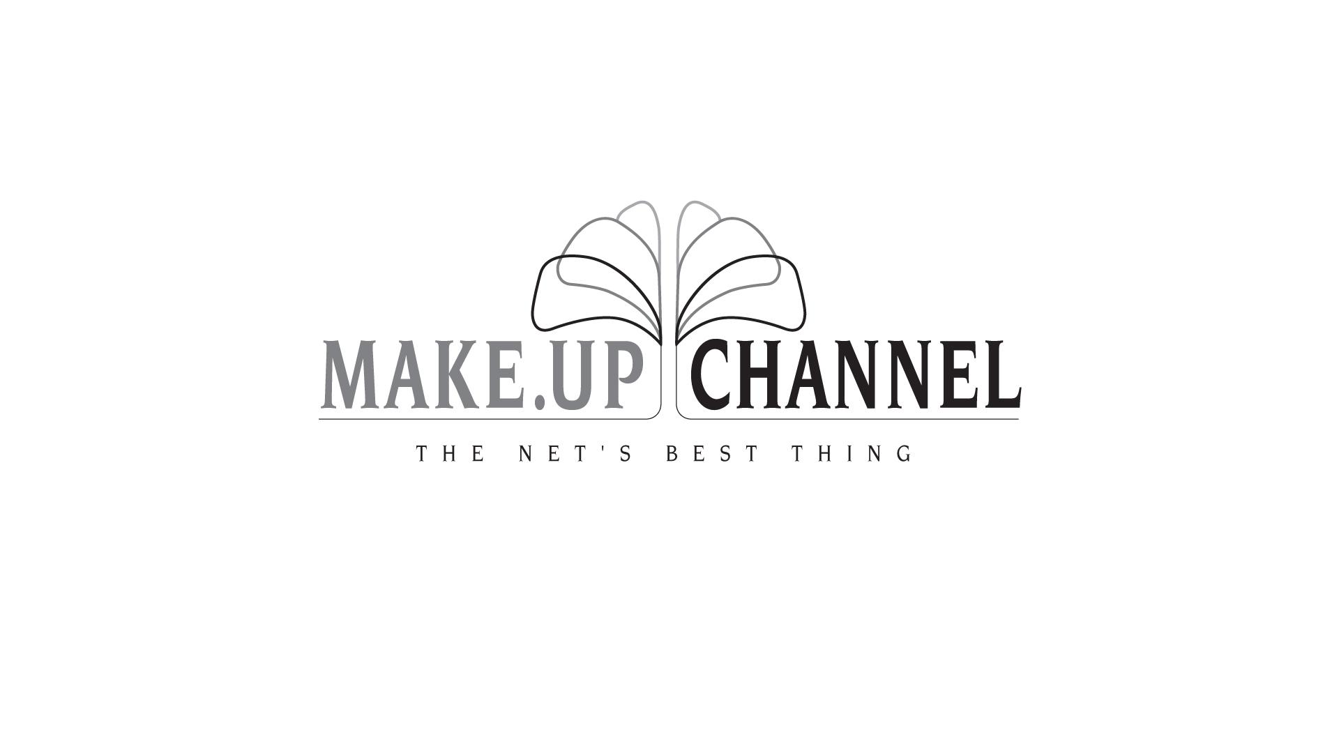 Make-Up Channel Online Beauty School Logo Design