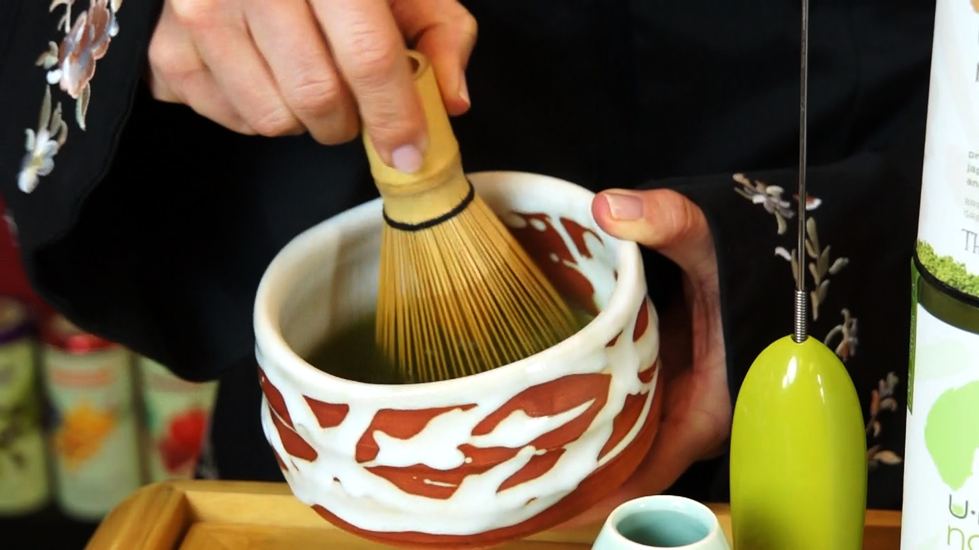 hwo to make matcha instructional video production