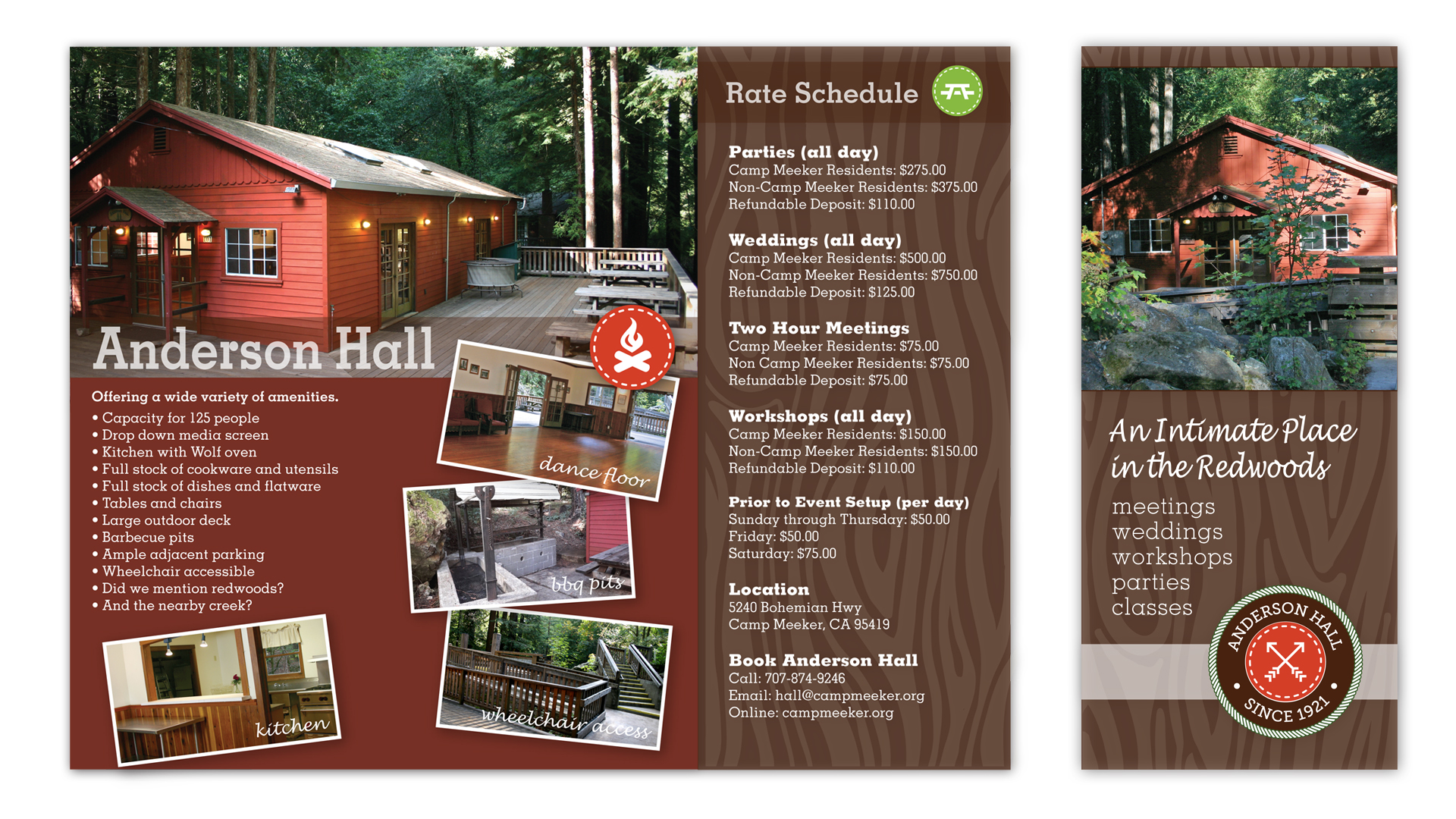 Camp Meeker Brochure