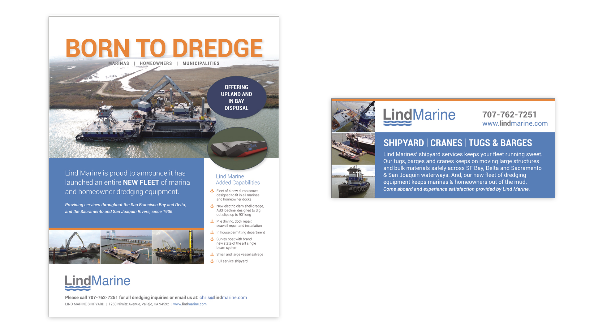Lind Marine Publication Ads