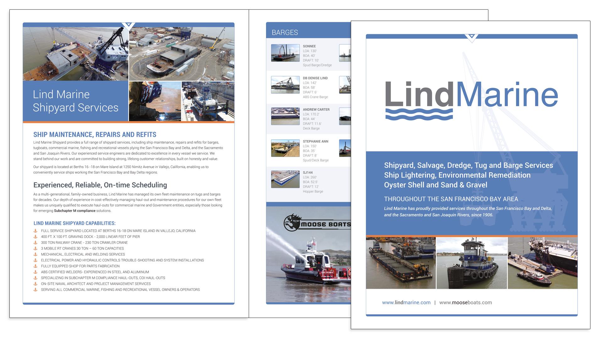Lind Marine Brochure