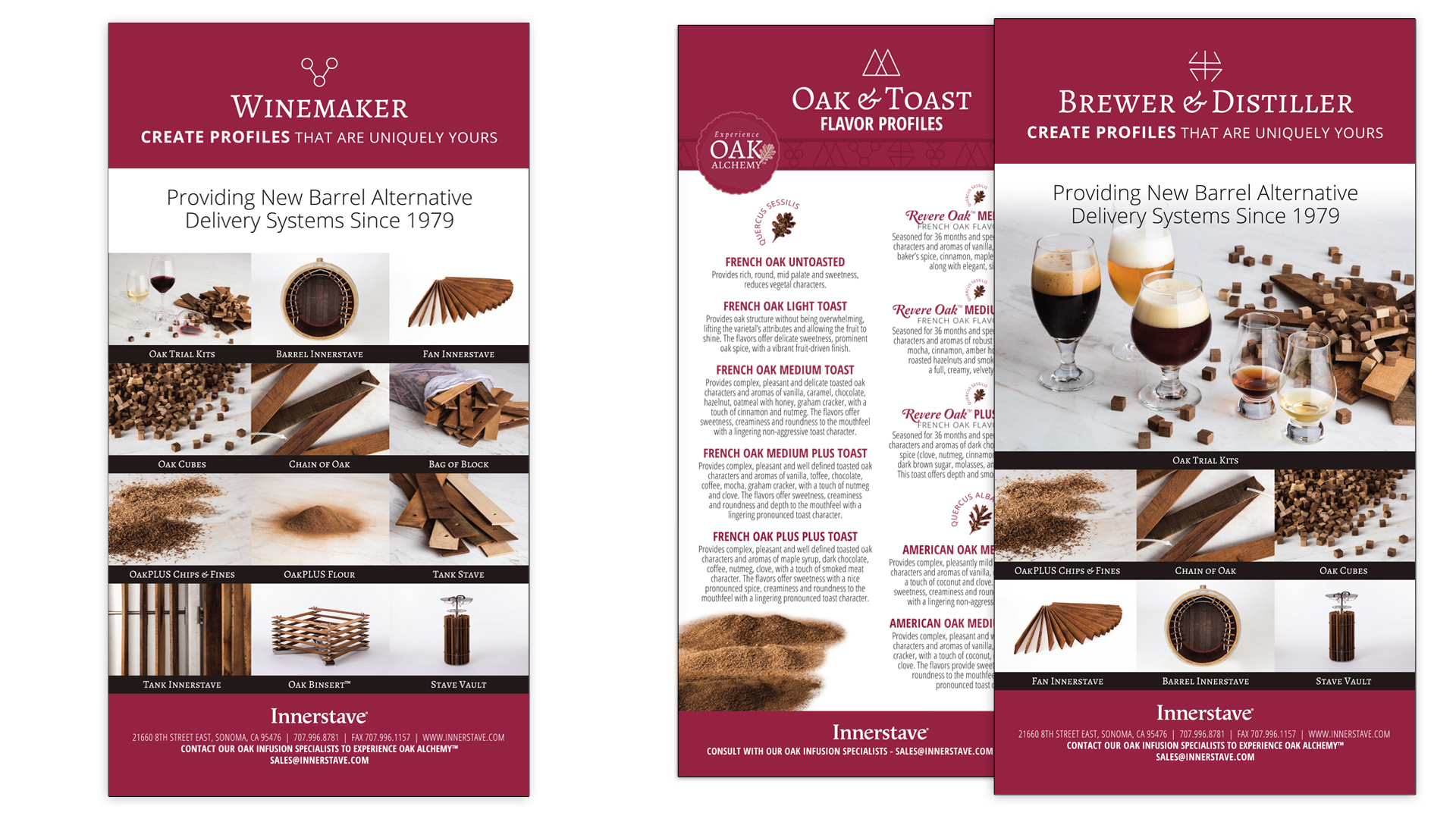 Innerstave Product Cards
